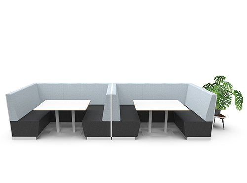 Images of the booth seat MC Sofa System