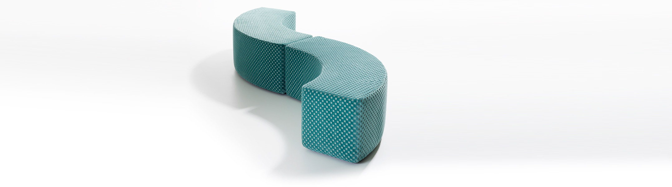 Dots Curve seating elements