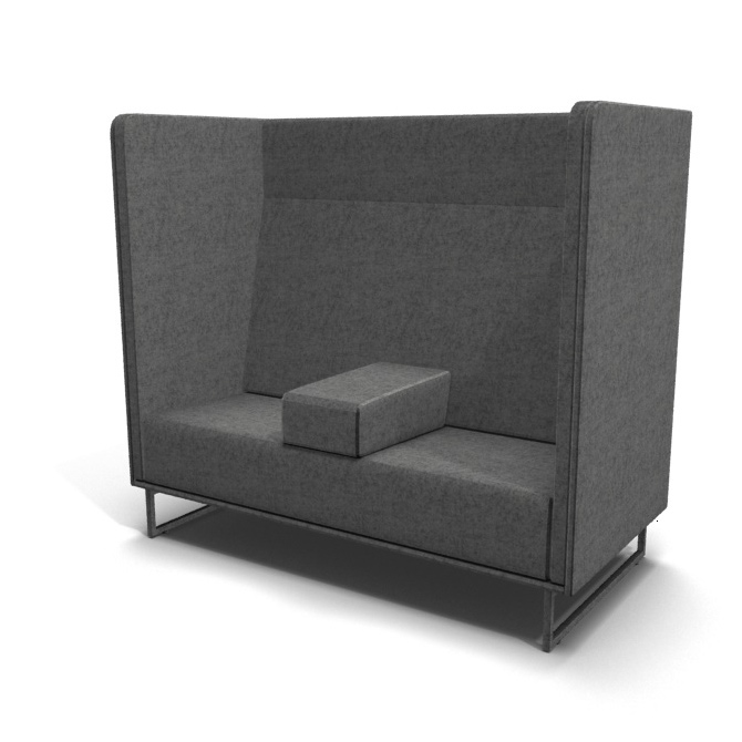 Soft seating booth 1st Class 2-seater