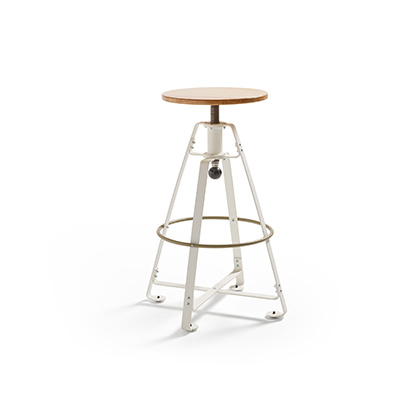 Height adjustable bar stool Spinner high