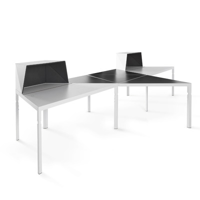 Trigon tables and desks