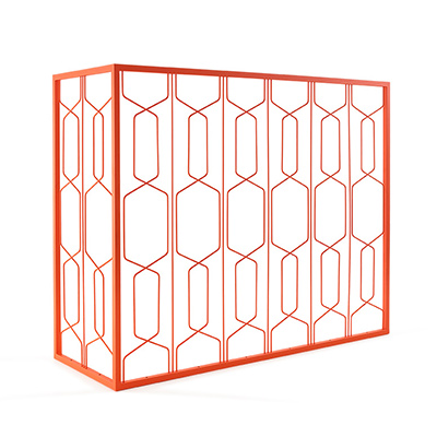 Wirepanel roomdivider