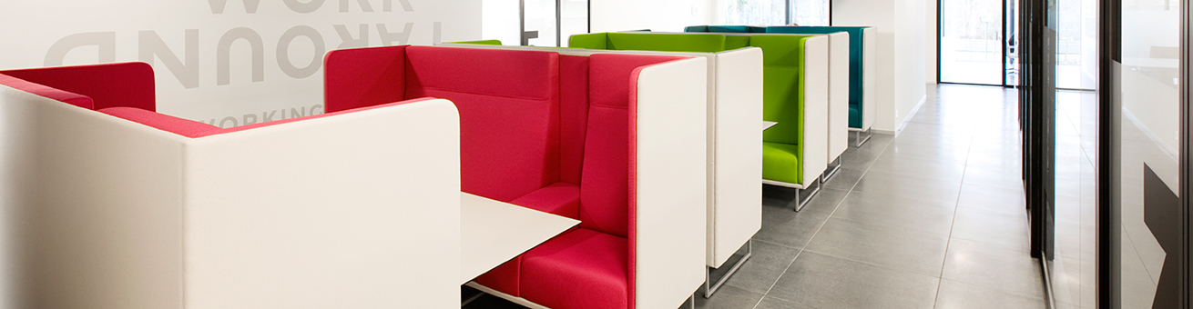 Lande furniture supports the new way of working