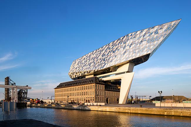 Furniture office Port House Antwerp
