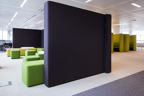 Interior design offices ING, Zaventem (BE)