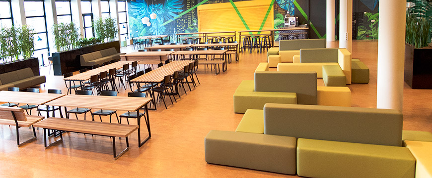 Canteen Interior Design Nova College Furniture Reference Lande