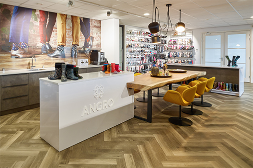 Custom furniture at Angro BV
