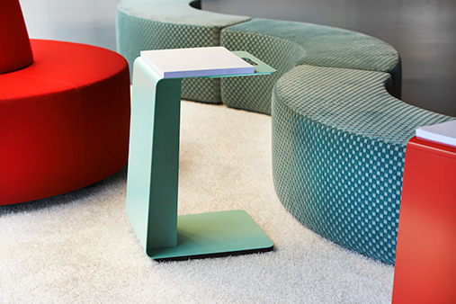 Furniture from the Lande sample collection.