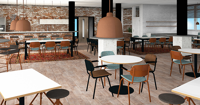3D Visualisation of Grand Café Prime Vision